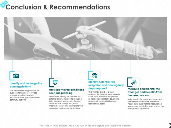 Conclusion And Recommendations Ppt PowerPoint Presentation Model Icon