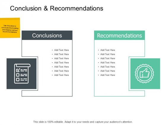 Conclusion And Recommendations Ppt PowerPoint Presentation Model Mockup