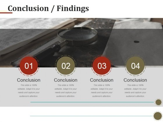 Conclusion Findings Ppt PowerPoint Presentation Icon Backgrounds