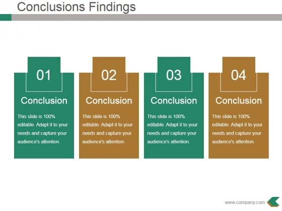 Conclusions Findings Ppt PowerPoint Presentation Infographics Slide Download