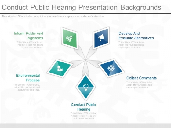 Conduct Public Hearing Presentation Backgrounds