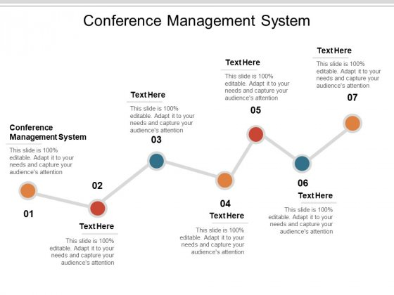 Conference Management System Ppt PowerPoint Presentation Samples Cpb