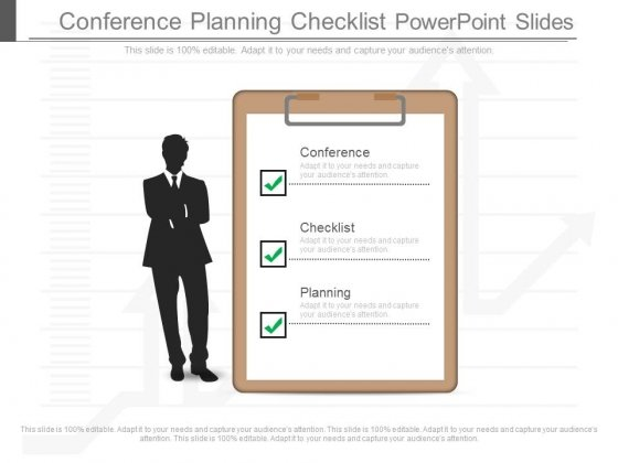 Conference Planning Checklist Powerpoint Slides