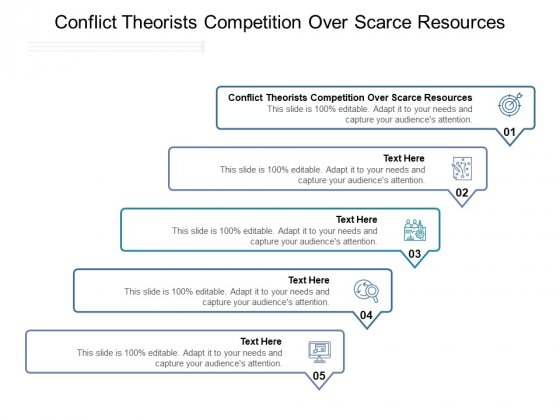 Conflict Theorists Competition Over Scarce Resources Ppt PowerPoint Presentation Infographics Model Cpb Pdf