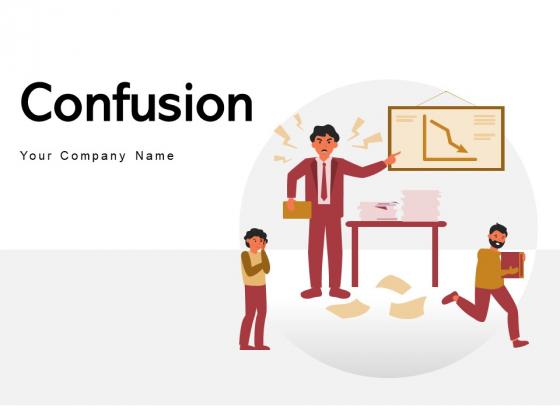 Confusion Business Problem Circles Ppt PowerPoint Presentation Complete Deck