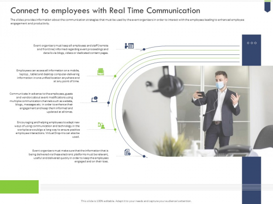 Connect_To_Employees_With_Real_Time_Communication_Summary_PDF_Slide_1