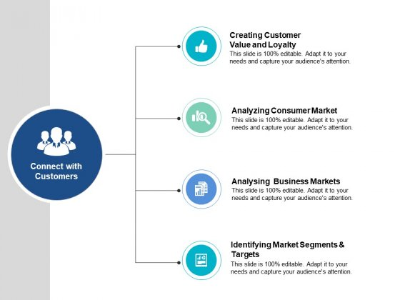 Connect With Customers Ppt PowerPoint Presentation Ideas Infographics