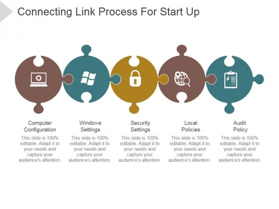 Connecting Link Process For Start Up Ppt PowerPoint Presentation Summary
