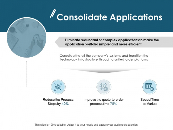 Consolidate Applications Ppt PowerPoint Presentation Infographic Template Picture