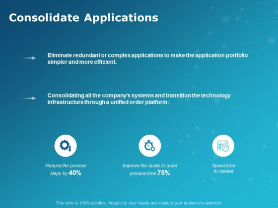 Consolidate Applications Ppt PowerPoint Presentation Inspiration Pictures