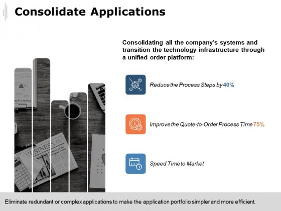 Consolidate Applications Ppt PowerPoint Presentation Professional Designs