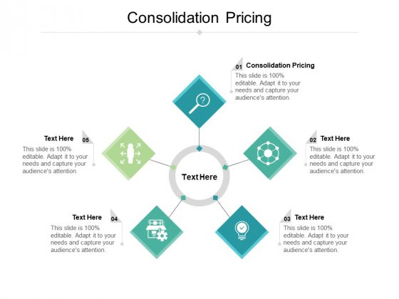Consolidation Pricing Ppt PowerPoint Presentation File Maker Cpb Pdf
