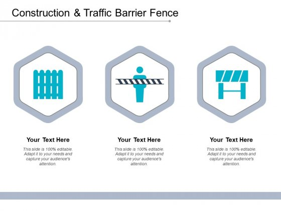 Construction And Traffic Barrier Fence Ppt PowerPoint Presentation Outline Clipart