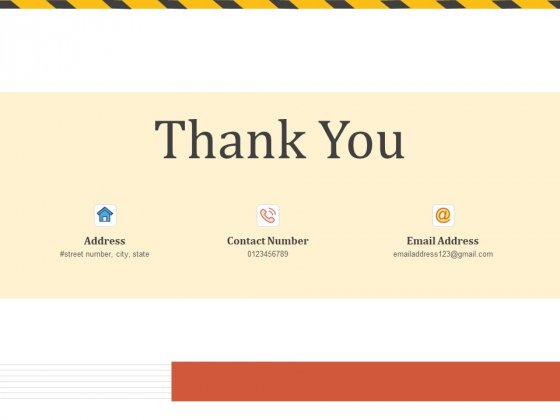 Construction Business Company Profile Thank You Ppt Background Images PDF