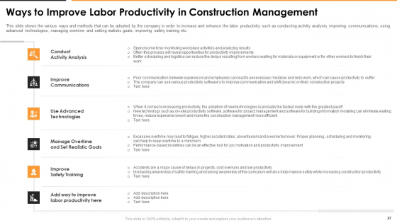 Construction_Management_For_Optimizing_Resource_Efficiency_And_Labor_Capacity_Ppt_PowerPoint_Presentation_Complete_With_Slides_Slide_27