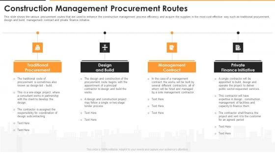 Construction Management Procurement Routes Pictures PDF