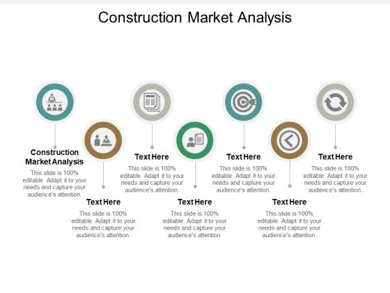 Construction Market Analysis Ppt PowerPoint Presentation Show Graphics Cpb