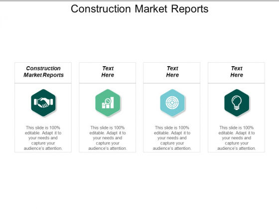 Construction Market Reports Ppt PowerPoint Presentation Slides Layout Cpb