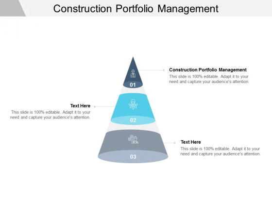 Construction Portfolio Management Ppt PowerPoint Presentation Ideas Cpb