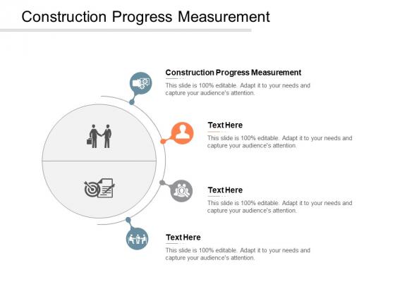 Construction Progress Measurement Ppt PowerPoint Presentation Portfolio Ideas Cpb