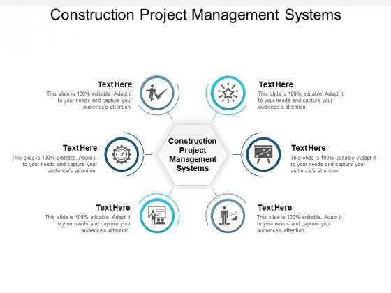 Construction Project Management Systems Ppt PowerPoint Presentation Inspiration Topics Cpb
