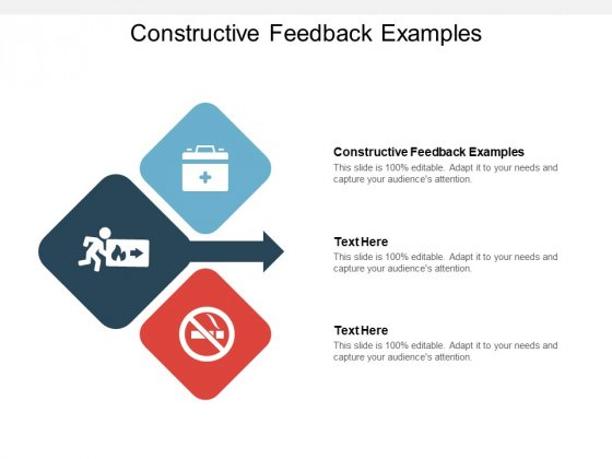 Constructive Feedback Examples Ppt PowerPoint Presentation Slides Templates