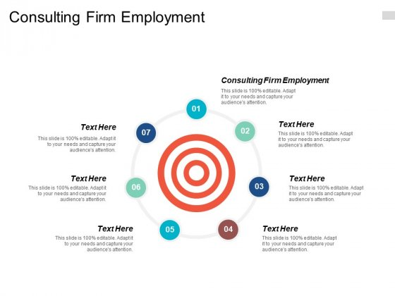 Consulting Firm Employment Ppt PowerPoint Presentation Pictures Example Topics