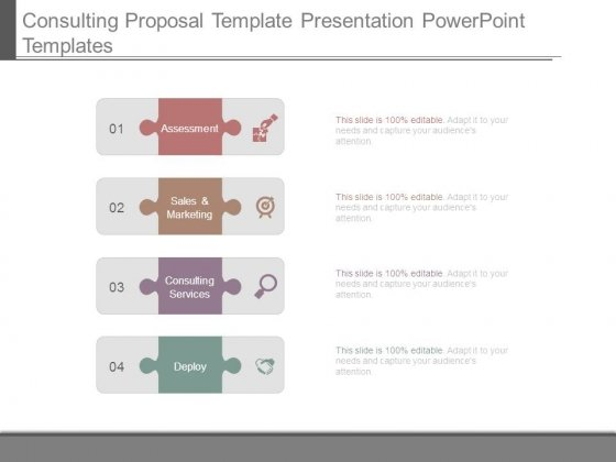 Consulting Proposal Template Presentation Powerpoint Templates Powerpoint Templates