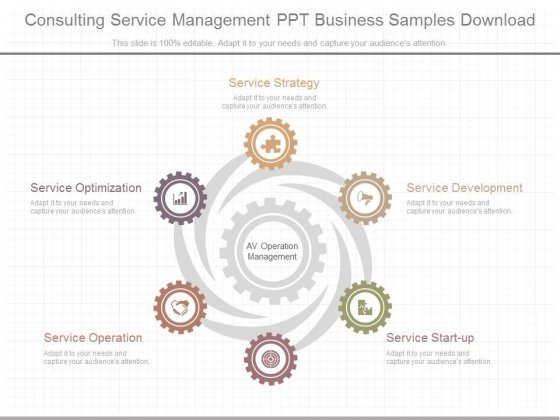 Consulting Service Management Ppt Business Samples Download