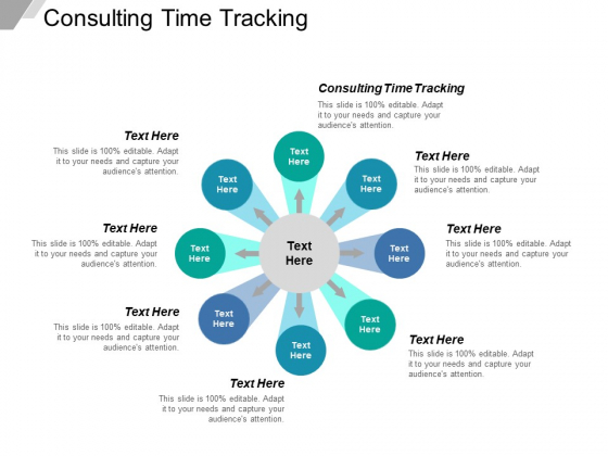 Consulting Time Tracking Ppt PowerPoint Presentation File Files Cpb