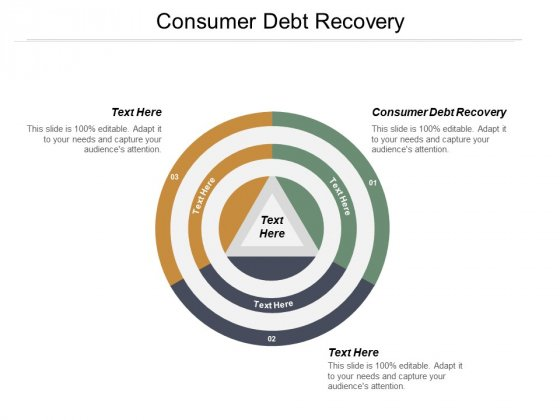 Consumer Debt Recovery Ppt PowerPoint Presentation Infographic Template Sample Cpb