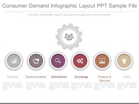 Consumer Demand Infographic Layout Ppt Sample File