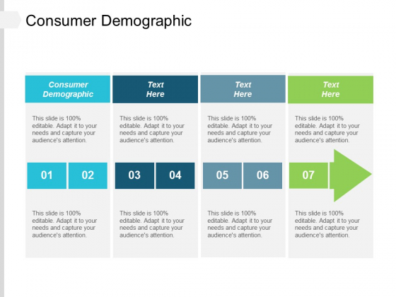 Consumer Demographic Ppt Powerpoint Presentation Slides Master Slide Cpb