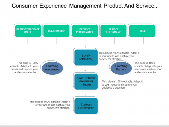 Consumer Experience Management Product And Service Performance Ppt PowerPoint Presentation Infographics Inspiration