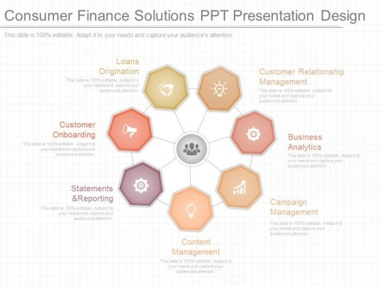 Consumer Finance Solutions Ppt Presentation Design