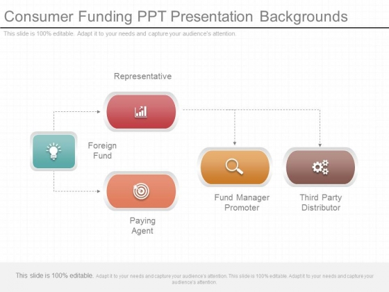 Consumer Funding Ppt Presentation Backgrounds