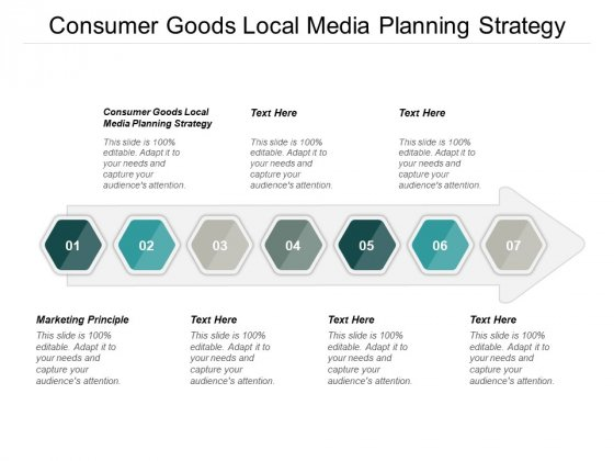 Consumer Goods Local Media Planning Strategy Marketing Principle Ppt PowerPoint Presentation Icon Guidelines