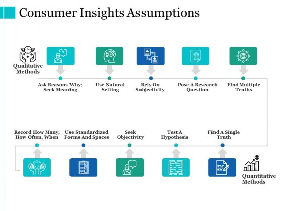 Consumer Insights Assumptions Ppt PowerPoint Presentation Visual Aids Layouts