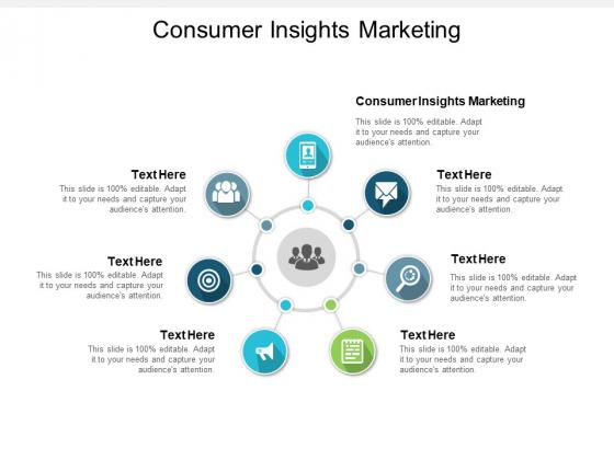 Consumer Insights Marketing Ppt PowerPoint Presentation Portfolio Visuals Cpb