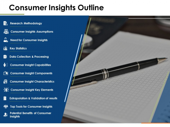 Consumer Insights Outline Ppt PowerPoint Presentation Pictures Graphics