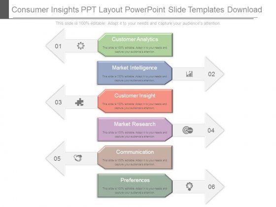 Consumer Insights Ppt Layout Powerpoint Slide Templates Download