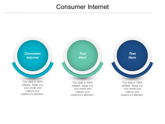 Consumer Internet Ppt PowerPoint Presentation Outline Slideshow Cpb