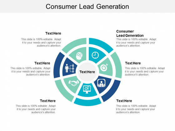 Consumer Lead Generation Ppt PowerPoint Presentation Ideas Sample Cpb