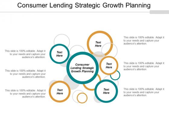 Consumer Lending Strategic Growth Planning Ppt PowerPoint Presentation Inspiration Slide Portrait Cpb