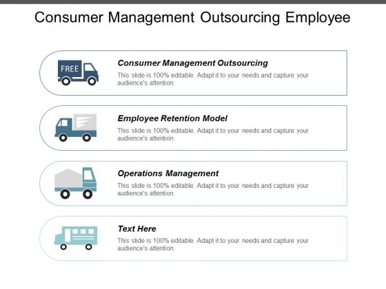 Consumer Management Outsourcing Employee Retention Model Operations Management Ppt PowerPoint Presentation Professional Design Templates
