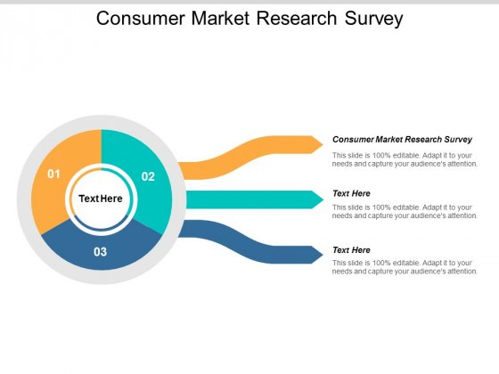 Consumer Market Research Survey Ppt PowerPoint Presentation Outline Design Templates Cpb