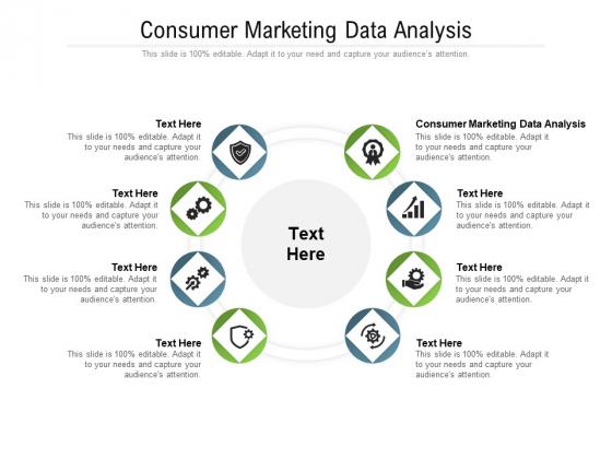 Consumer Marketing Data Analysis Ppt PowerPoint Presentation Ideas Topics Cpb Pdf