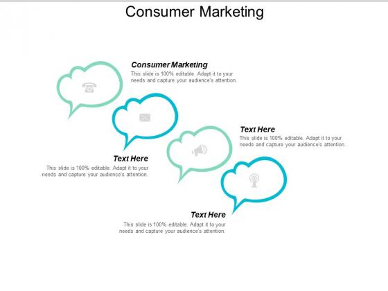 Consumer Marketing Ppt PowerPoint Presentation Layouts Slideshow Cpb