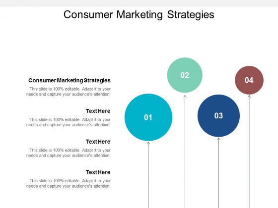 Consumer Marketing Strategies Ppt PowerPoint Presentation Layouts Show Cpb