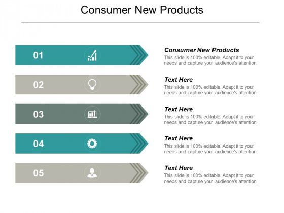 Consumer New Products Ppt PowerPoint Presentation Gallery Smartart Cpb